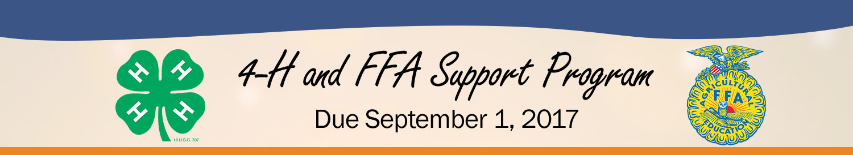 4-H & FFA Support Program