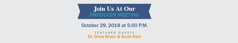 October 2018 Producer Meeting