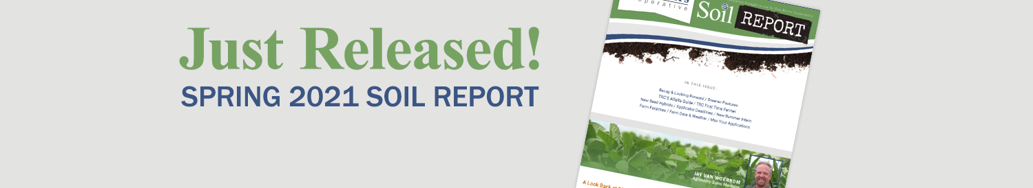 March 2021 Soil Report